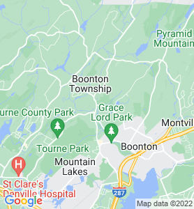 Powerville NJ Map