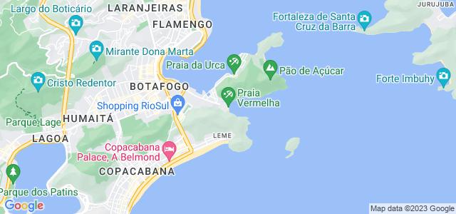 Praça General Tibúrcio, Praia Vermelha, Urca - RJ