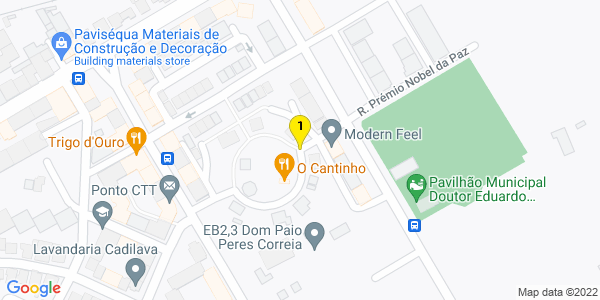 Google Map of Praceta Diogo Mendonça Corte Real 8800-452 Tavira