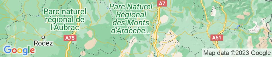 Map Pradons