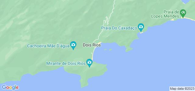 Praia Dois Rios, Ilha Grande, Angra dos Reis - RJ