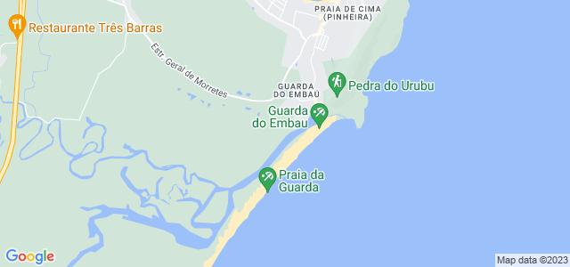Praia da Guarda do Embaú, Palhoça - SC