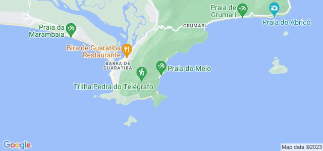Praia do Meio, Guaratiba - RJ