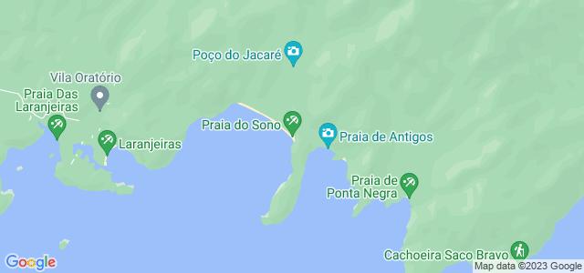 Praia do Sono, Paraty, Rio de Janeiro