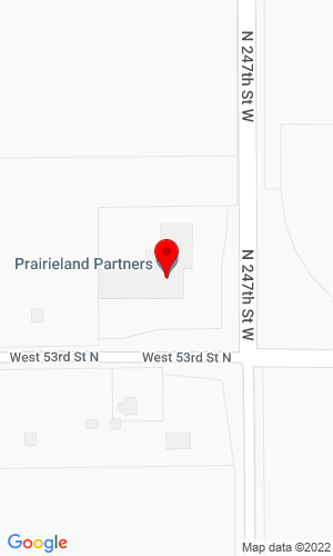 Google Map of Prairieland Partners 24800 W 53rd Street N, Andale, KS, 67001