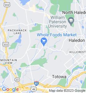 Preakness NJ Map