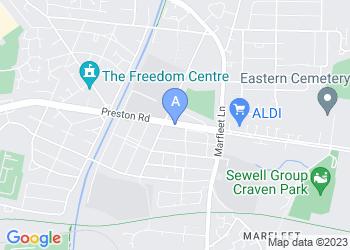 Map for KCom Craven Park