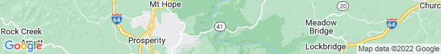 Map of WV