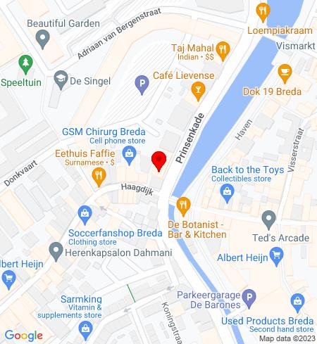 Google Map of Prinsenkade 2