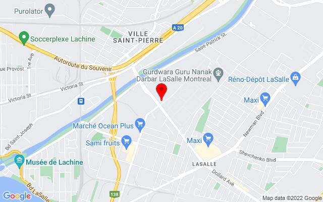 Google Map of Pro Depot Inc, 8701 Elmslie St, Lasalle, Quebec H8R 1V4