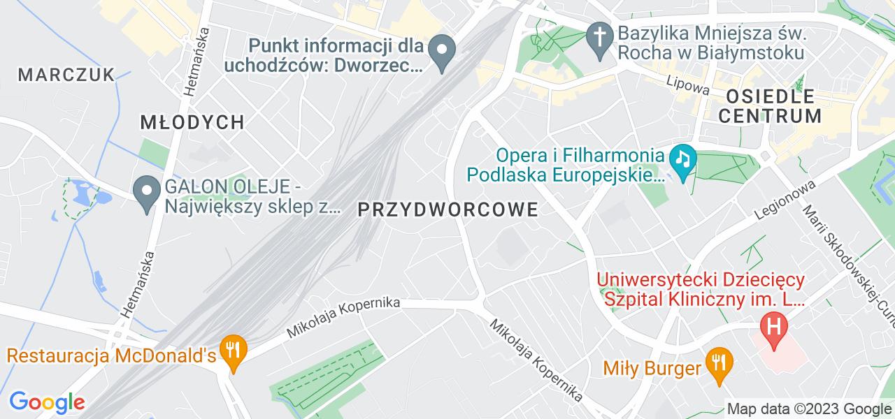 Osiedle Przydworcowe w Białymstoku – w tych punktach ekspresowo wyślesz turbinę do autoryzowanego serwisu