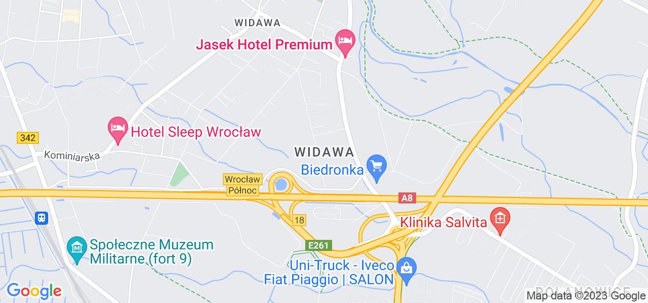 Osiedle Psie Pole - Widawa w Wrocławiu – w tych punktach ekspresowo wyślesz turbinę do autoryzowanego serwisu