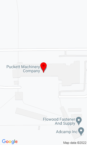 Google Map of Puckett Machinery 100 Caterpillar Drive, Flowood, MS, 39232,