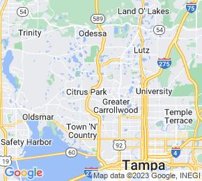 Job Map - Putnam Court Tampa, Florida 33624 US