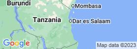 Pwani map