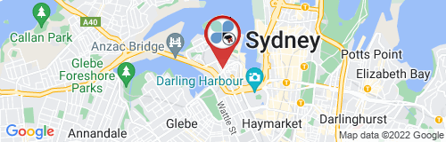 Pyrmont google map