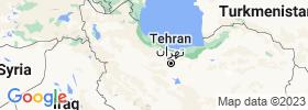Qazvīn map