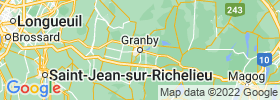 Granby map