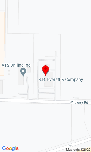 Google Map of R B Everettt & Co. 8211 Red Bluff Road, Pasadena, TX, 77507,