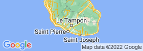 Le Tampon map
