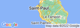 Saint Leu map