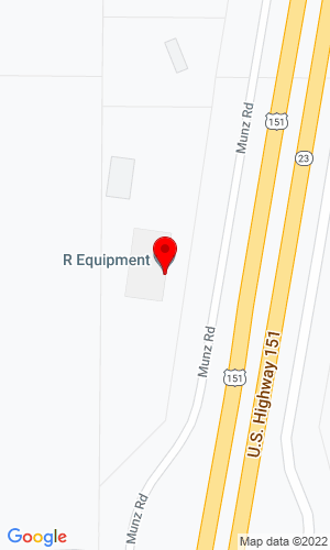 Google Map of R-Equipment co. 2250 Munz Rd., Dodgeville, WI , 53533