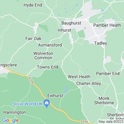 Baughurst House Location