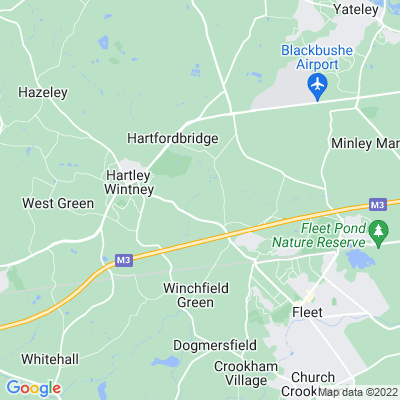 Elvetham Hall Location