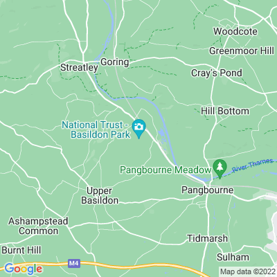 Basildon Park Location