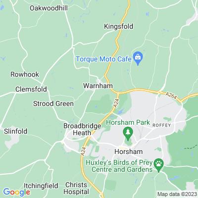 Warnham Court Location