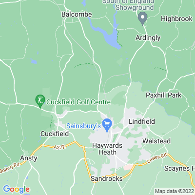 Borde Hill Location