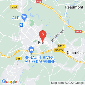 Carte Serrurier Rives