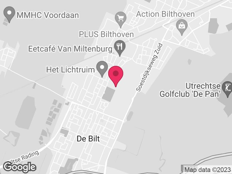Google Map of RIVM Antonie van Leeuwenhoeklaan 9 3721 MA Bilthoven