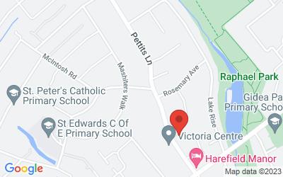 Map of Victoria Centre (Raphael House)