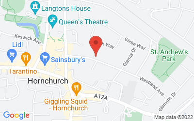 Map of Westland Medical Centre (for 18+ years only)