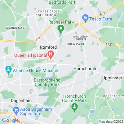Park Lane Recreation Ground Location