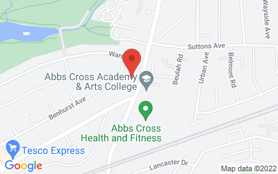 Map of Elm Park Clinic