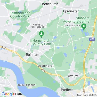 Rainham (Federation) Jewish Cemetery Location