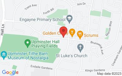 Map of Cranham Health Centre