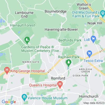 Lawns Park Location