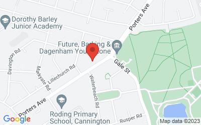 Map of Porters Avenue Health Centre