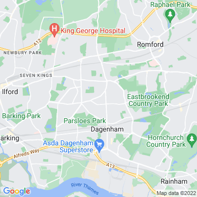 Goresbrook Park Location