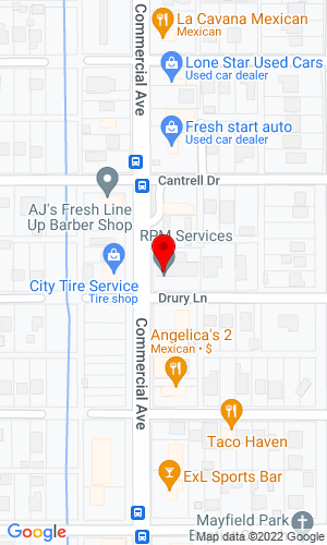 Google Map of RPM Services & Rentals 6006 Highway 90 W , New Iberia, LA, 70560