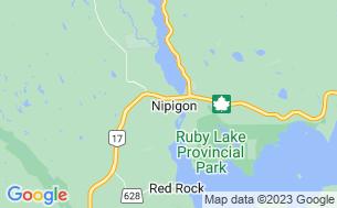 Map of Birchwood Campground