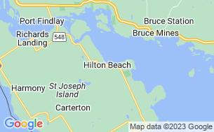 Map of Whiskey Bay Resort & Marina