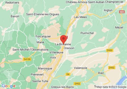 Localisation de PEPINIERE DE HAUTE PROVENCE