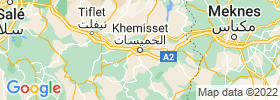Khemisset map