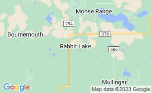 Map of Meeting Lake Regional Park
