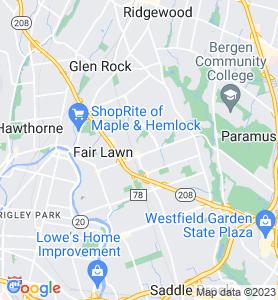 Radburn NJ Map