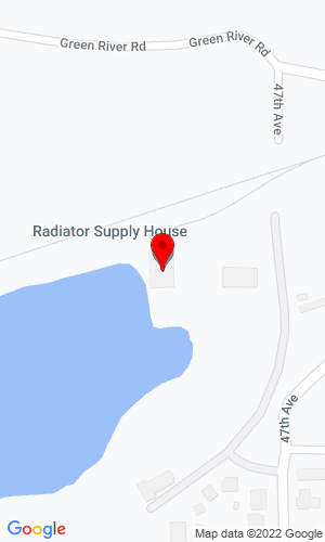 Google Map of Radiator Supply House Inc. 4432 Highway 20, Sweet Home, OR, 97386